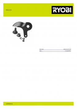 RYOBI RAC315  5132004941 A4 PDF