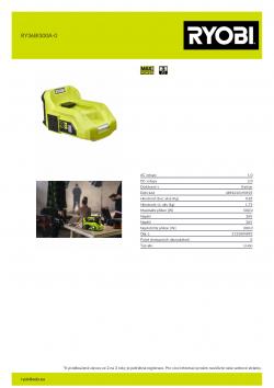 RYOBI RY36BI300A  5133004893 A4 PDF