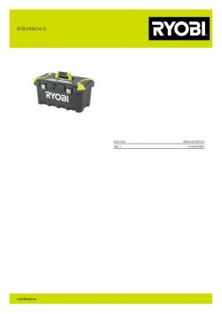 RYOBI RTB19INCH-G  5132004881 A4 PDF