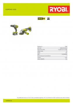 RYOBI R18PDAG  5133003842 A4 PDF