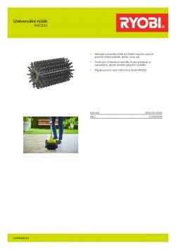 RYOBI RAC816 Univerzální rýžák 5132004348 A4 PDF