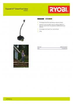 RYOBI RXB01 Expand-It™ SmartTool fukar 5132002794 A4 PDF