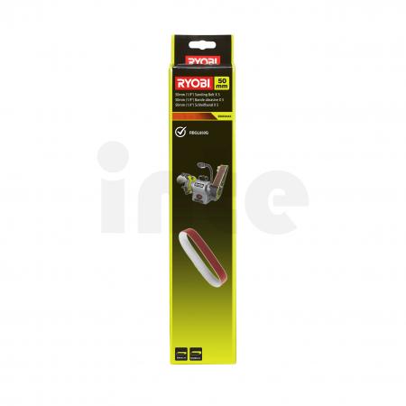 RYOBI BSS50A5 5ks sada stacionárního papíru do pásové brusky 5132003684