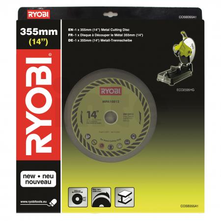 RYOBI COSB355A1 355mm pilový kotouč pro rozbrusku 5132002684