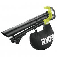 RYOBI OBV18 18V Bezuhlíkový akumulátorový fukar a vysavač 5133003661