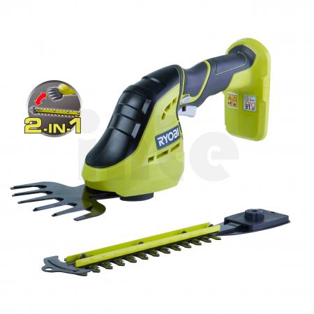 RYOBI OGS1822 18V Akumulátorové nůžky a zastřihávač na trávu a keře 5133002830