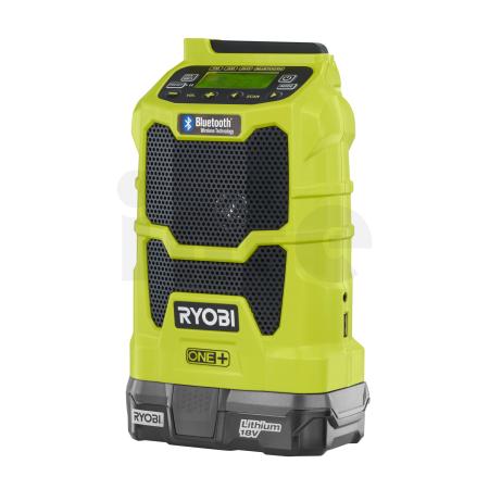 RYOBI R18R 18V Akumulátorové rádio s Bluetooth® 5133002455