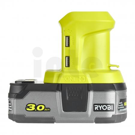 RYOBI R18USB 18V Akumulátorový USB adaptér 5133004381