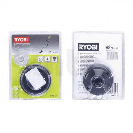 RYOBI RAC121 Žací hlava k síťovému křovinořezu s 1.5mm strunou 5132002593