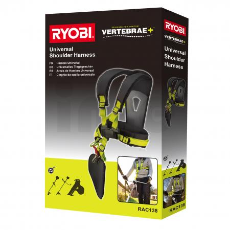 RYOBI RAC138 Vertebrae+ popruh pro použití při sečení, vyžínání a odklízení nečistot 5132002706