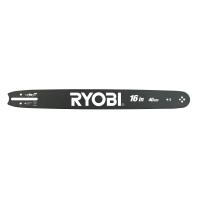 """RYOBI RAC229 16""""/40cm lišta pro benzínové řetězové pily 5132002475"""