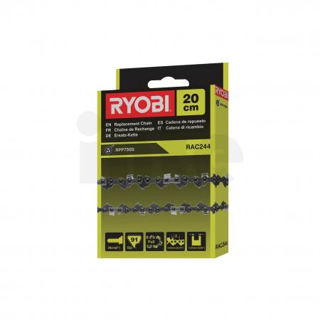 """RYOBI RAC244 8""""/20cm řetěz do elektrické síťové tyčové prořezávací pily 5132002717"""