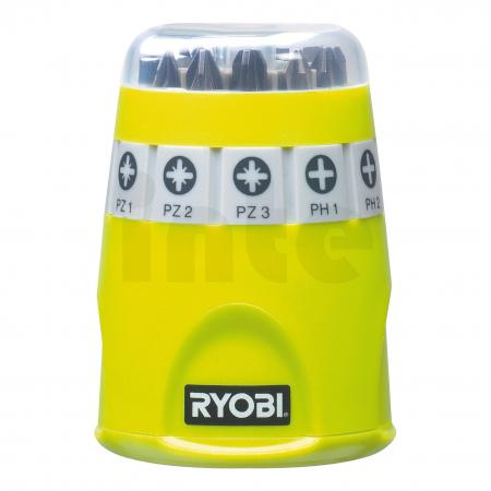 RYOBI RAK10SD 10ks sada šroubovacích bitů 5132002549