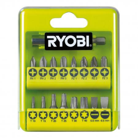 RYOBI RAK17SD 17ks sada šroubovacích bitů 5132002550