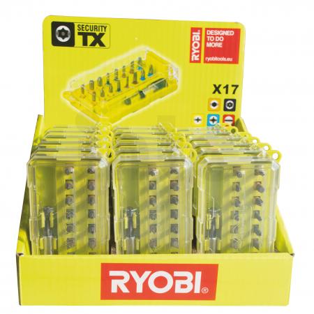 RYOBI RAK17SDC 17ks sada šroubovacích bitů 5132002682