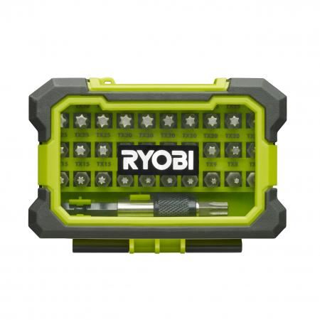 RYOBI RAK32TSD 32ks sada šroubovacích bitů Torx 5132002792