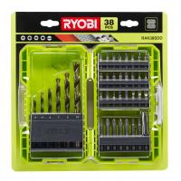 RYOBI RAK38SDD 38ks smíšená sada vrtacích a šroubovacích bitů 5132003303