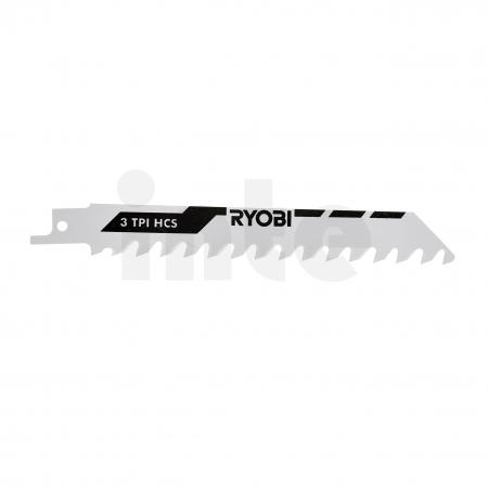 RYOBI RAK3RBWM 3ks sada pilových plátků do šavlových pil (na dřevo i kov) 5132002813