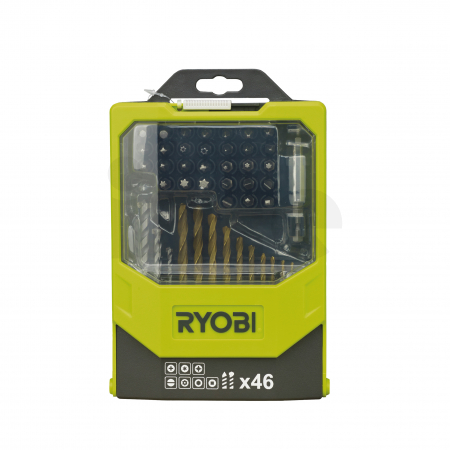 RYOBI RAK46MIX 46ks sada vrtáků a šroubovacích bitů 5132002686