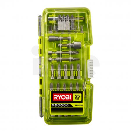RYOBI RAK55 55ks sada šroubovacích bitů 5132004357