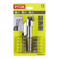 RYOBI RAKRAD11 Sada adaptéru pro pravoúhlou vrtačku a šroubovacích bitů 5132004834