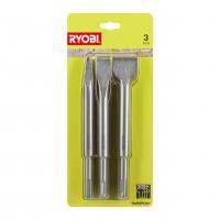 RYOBI RAKSPC03 3ks sada SDS+ sekáčů 5132004836