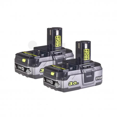 RYOBI RB18LL30 2x 18V Lithium+ HIGH ENERGY akumulátor 3.0Ah 5133003591