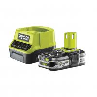 RYOBI RC18120-115 18V Sada akumulátoru 1.5Ah s nabíječkou 5133003357
