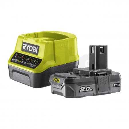 RYOBI RC18120-120 18V Sada akumulátoru s nabíječkou (1x2.0Ah) 5133003368