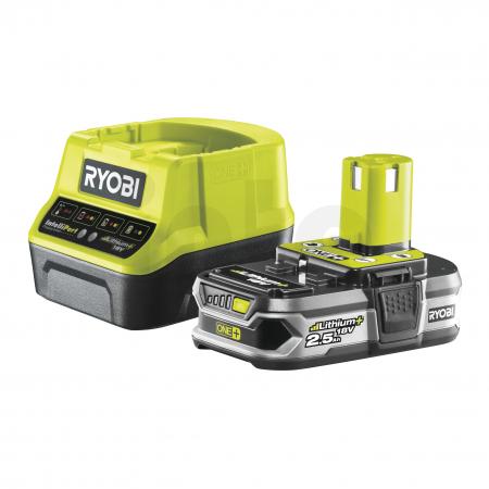 RYOBI RC18120-125 18V Sada akumulátoru s nabíječkou (1x2.5Ah) 5133003359