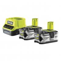 RYOBI RC18120-240 18V Sada akumulátoru s nabíječkou (2x4.0Ah) 5133003363