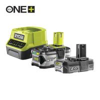 RYOBI RC18120-242 18V Sada akumulátoru s nabíječkou (1x4.0Ah + 1x2.0Ah) 5133003365