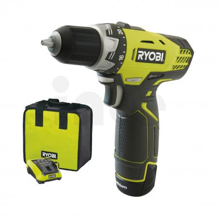 RYOBI RCD1201 12V Akumulátorový vrtací šroubovák (1x1.3 Ah) 5133001156
