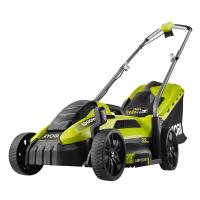 RYOBI RLM13E33S 1300W Elektrická sekačka na trávu, šířka záběru 33cm 5133002343