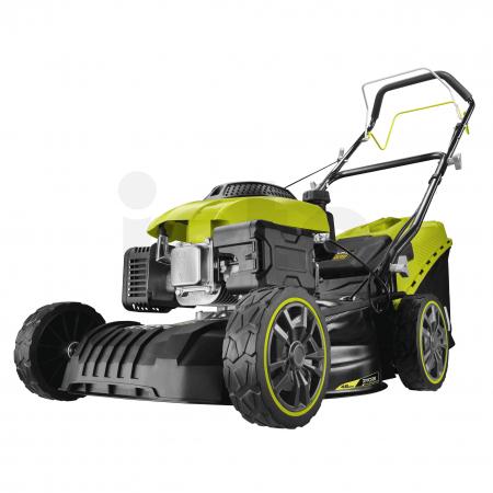 RYOBI RLM46160S Benzínová travní sekačka OHV 160cm³, šířka záběru 46cm 5133004344