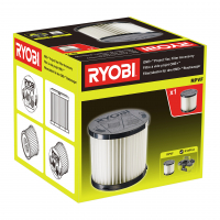 RYOBI RPVF Filtr do dílenského vysavače 5132004211