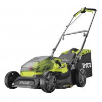 RYOBI RY18LMX37A 18V Bezuhlíková akumulátorová sekačka na trávu, šířka záběru 37cm 5133004597