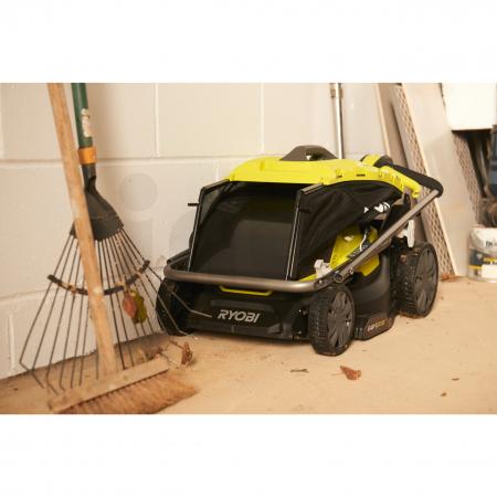 RYOBI RY18LMX37A 18V Akumulátorová sekačka na trávu, šířka záběru 37cm (1x5.0Ah) 5133004582