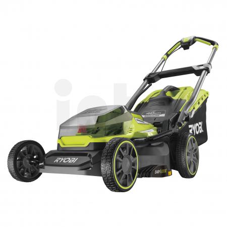 RYOBI RY18LMX40A 18V Akumulátorová sekačka na trávu, šířka záběru 40cm (2x4.0Ah) 5133004587