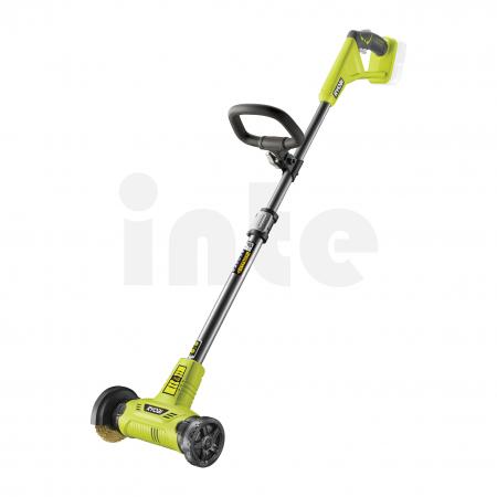 RYOBI RY18PCA 18V Akumutárový patio čistič s drátěným kartáčem 5133004727