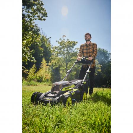 RYOBI RY36LMX51A 36V Bezuhlíková akumulátorová sekačka na trávu, šířka záběru 49cm (1x6.0Ah) 5133004589