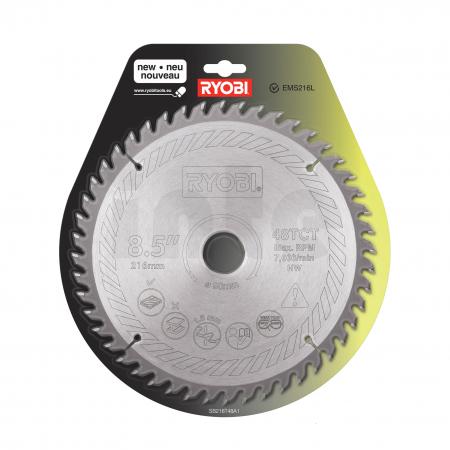 RYOBI SB216T48A1 216mm pilový kotouč pro pokosové pily 5132002620