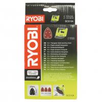 RYOBI SCS10A 10ks sada brusných papírů k broušení v koutech 5132002675