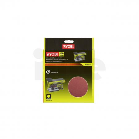 RYOBI SD150A10 10ks sada 150mm stacionárního papíru do pásové brusky 5132003685