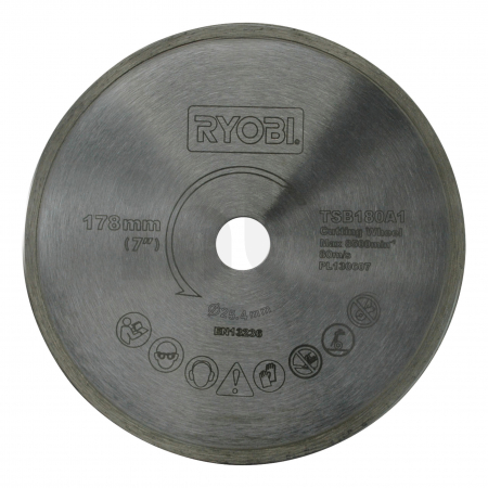 RYOBI TSB180A1 178mm kotouč pro řezačku na dlažbu a obklady 5132002694